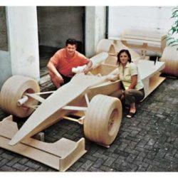 McLaren construído a partir de fósforos 2