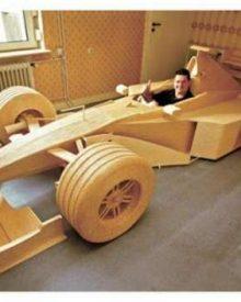 McLaren construído a partir de fósforos