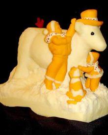 13 espantosas estátuas de queijo