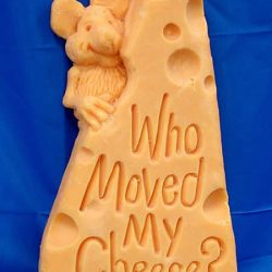 13 espantosas estátuas de queijo 1
