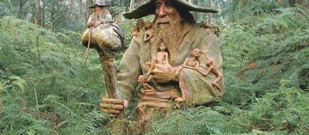 O jardim da escultura