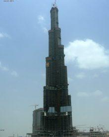Burj Dubai – O prédio mais alto do mundo