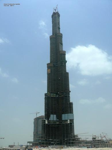Burj Dubai - O prédio mais alto do mundo 1
