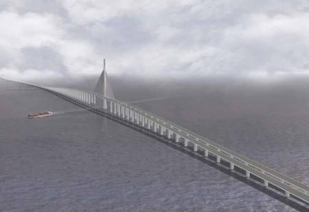 Qatar Bahrain Causeway - A maior ponte do mundo 1