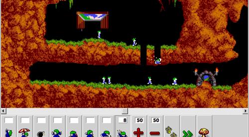 Os lemmings – Um jogo clássico
