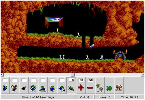 Os lemmings - Um jogo clássico 3