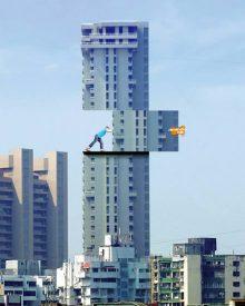 10 publicidades inteligentes em edifícios
