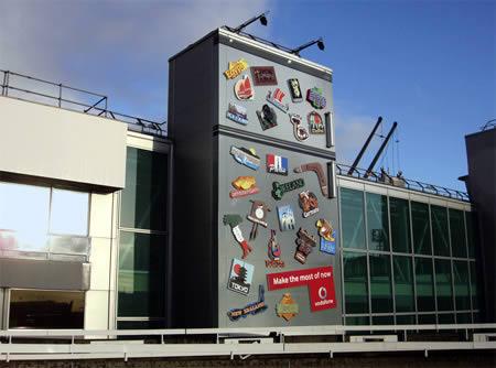 10 publicidades inteligentes em edifícios 10