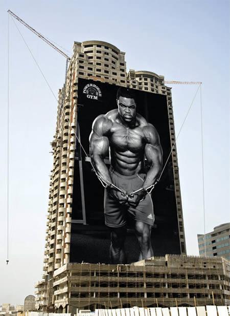 10 publicidades inteligentes em edifícios 2
