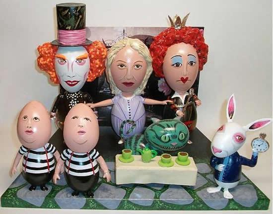 Ovos da Páscoa com caras de celebridades 1