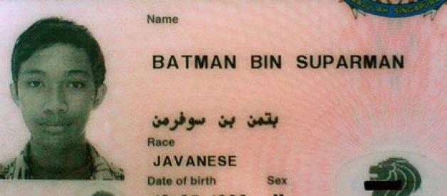 Os cartões de identificação mais bizarros