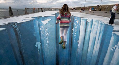 Ilusão de óptica – Idade do Gelo