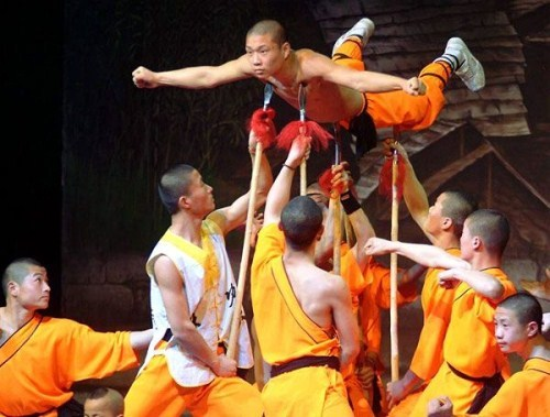 Os Monges de Shaolin