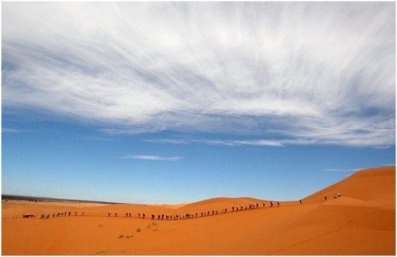 """""""Maratona das Areias"""" o desafio do deserto 3"""