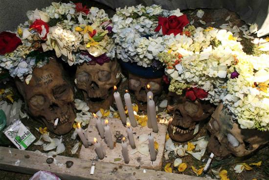 Dia das Caveiras na Bolívia 7