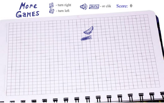 Notepad Snake 3