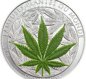 Nova moeda com a égide da marijuana