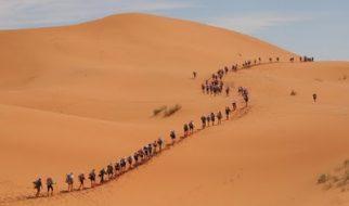 """""""Maratona das Areias"""" o desafio do deserto 1"""
