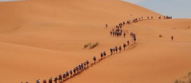 """""""Maratona das Areias"""" o desafio do deserto"""