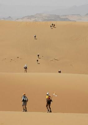 """""""Maratona das Areias"""" o desafio do deserto 8"""