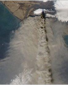 Fotos do vulcão Eyjafjallajökull