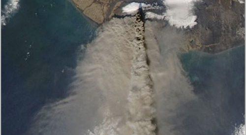 Fotos do vulcão Eyjafjallajökull 3