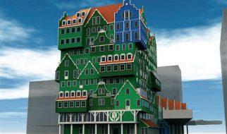Um hotel feito de casas 2