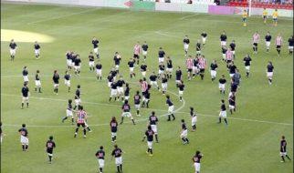 Futebol: Athletic Bilbao x 200 crianças 4