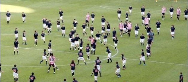 Futebol: Athletic Bilbao x 200 crianças