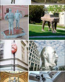 Esculturas estranhas