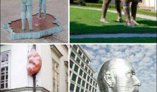 Esculturas estranhas 2