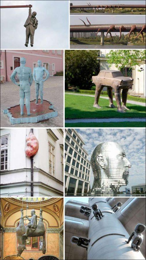 Esculturas estranhas 1