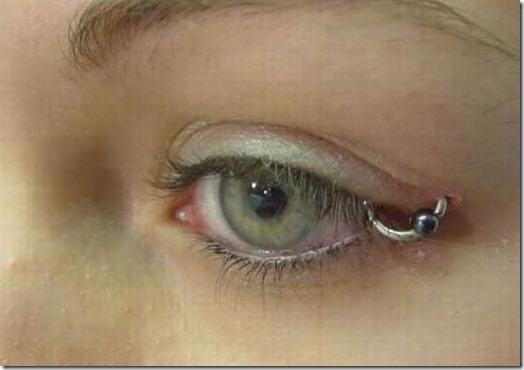 Piercing nos olhos 9