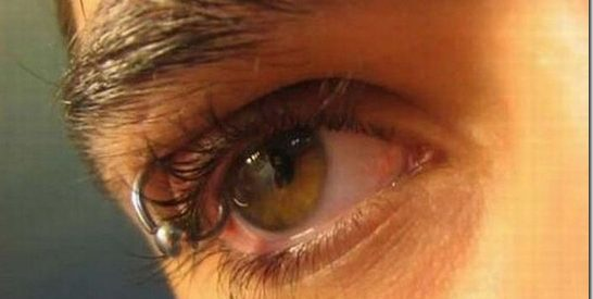 Piercing nos olhos 29