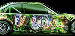 Graffitis e arte em carros 12
