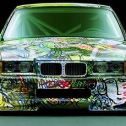 Graffitis e arte em carros 10