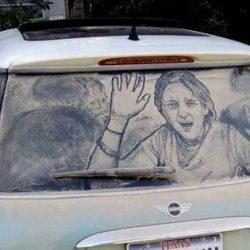 Graffitis e arte em carros 18