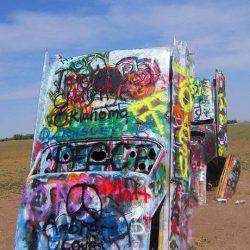 Graffitis e arte em carros 16