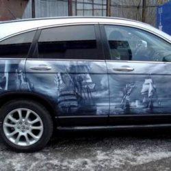 Graffitis e arte em carros 32