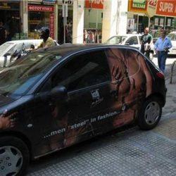 Graffitis e arte em carros 40