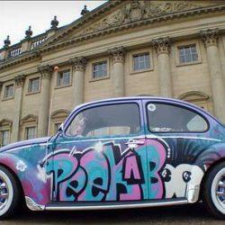 Graffitis e arte em carros 15