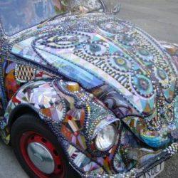Graffitis e arte em carros 20