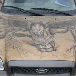 Graffitis e arte em carros 8
