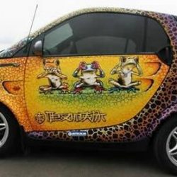 Graffitis e arte em carros 21