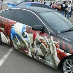 Graffitis e arte em carros 17