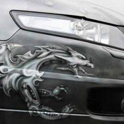 Graffitis e arte em carros 42