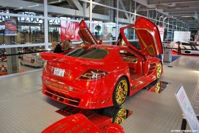 Mercedes-Benz SLR MacLaren banhado a ouro 3