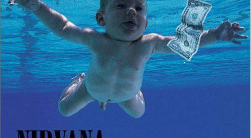 O bebé da capa do cd Nevermind dos Nirvana