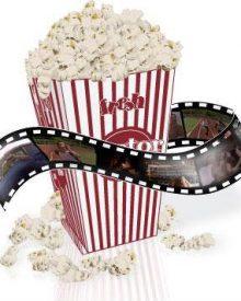 Porque comemos pipocas no cinema?