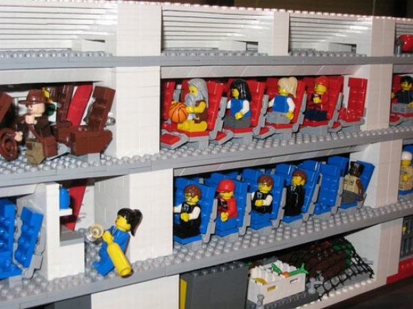 Um AirBus A380 em Lego 3